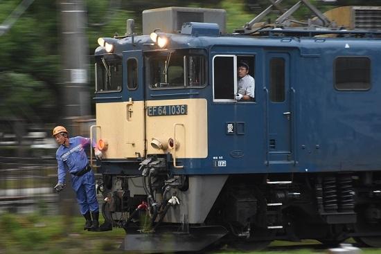 2020年8月8日撮影 南松本にて西線貨物6089レ機回しを流して