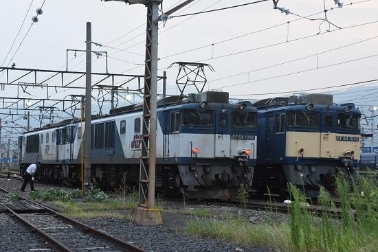 2020年8月8日撮影 南松本にて EF64-1042号機と1049号機の並び