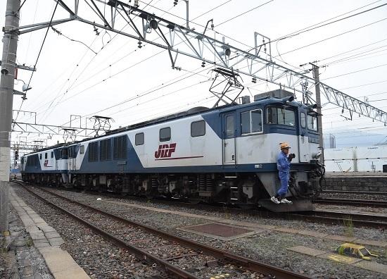 2020年6月6日撮影 南松本にて 篠ノ井線8467レ EF64-1033号機先頭 機回し