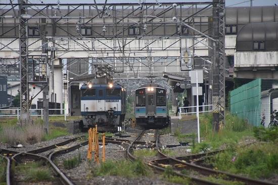 2020年8月8日撮影 篠ノ井線8467レ EF64重単 明科駅