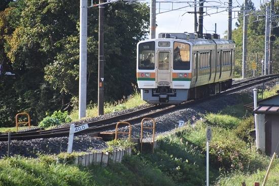 2020年9月27日撮影 飯田線 40‰ 204M 213系 坂を駆け上がる