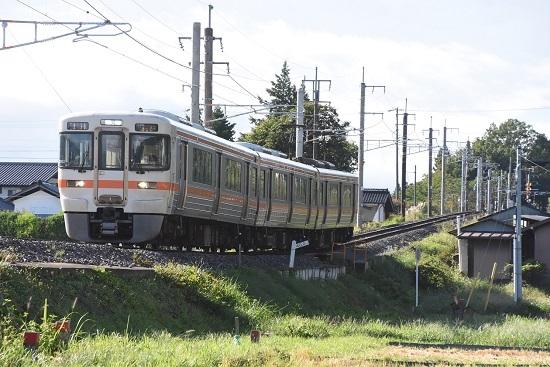 2020年9月17日撮影 飯田線は40‰にて211M 313系1700番台 B152編成