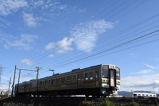 2020年9月27日撮影 飯田線 40‰ 206M 213系