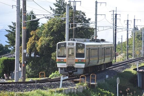 2020年9月27日撮影 飯田線 40‰ 206M 213系 坂を駆け上がる