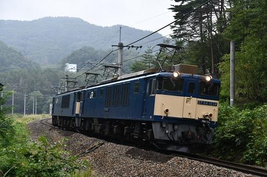 2020年8月22日撮影 篠ノ井線8467レ 西条トンネル出口