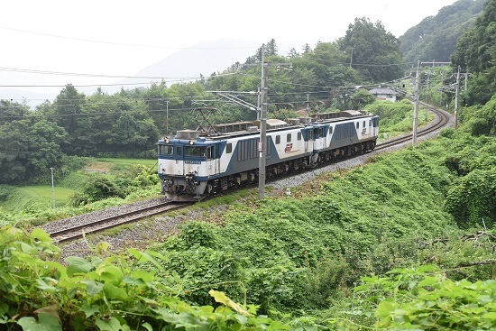 2020年8月8日撮影 篠ノ井線8467レ 姨捨駅発車