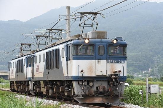 2020年8月8日撮影 篠ノ井線8467レ 稲荷山スレート