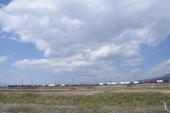 2020年4月4日撮影 東線貨物2083レ EH200-6号機牽引コンテナ貨物編成