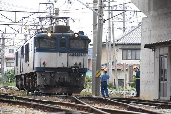 2020年8月8日撮影 篠ノ井線8467レ 派出所 パン下げ