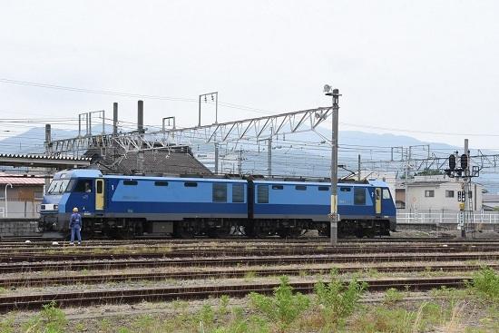2020年6月6日撮影 篠ノ井駅にて 坂城貨物5447レ EH200-901号機