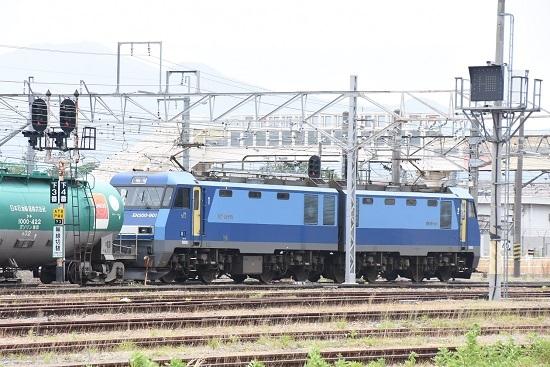 2020年6月6日撮影 坂城貨物 5774レ EH200-901号機発車
