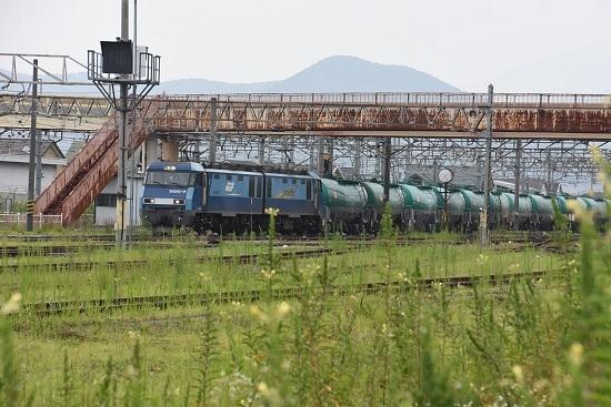 2020年8月8日撮影 坂城貨物85レ EH200-18号機