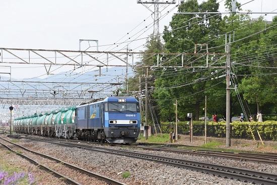 2020年6月6日撮影 南松本にて 東線貨物2084レ EH200-2号機