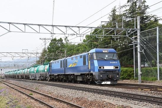 2020年6月6日撮影 南松本にて 東線貨物2084レ EH200-2号機 その2