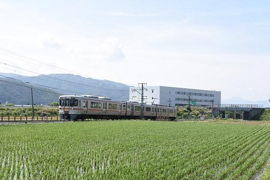 2020年6月7日撮影 飯田線 213M 313系1700番台