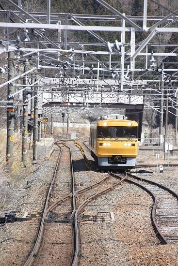 2020年4月5日撮影 西線 試9832D キヤ95 DR2編成 贄川駅発車