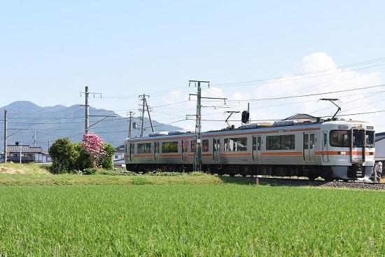 2020年6月7日撮影 飯田線 回送 313系