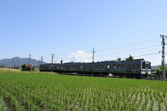 2020年6月7日撮影 飯田線 210M 211系