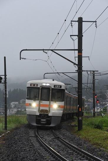 2020年6月14日撮影 飯田線211M 313系1700番台 伊那新町