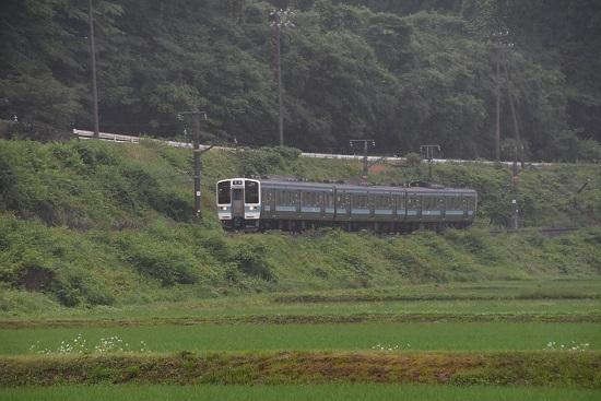 2020年6月14日撮影 飯田線210M 211系 伊那新町-羽場