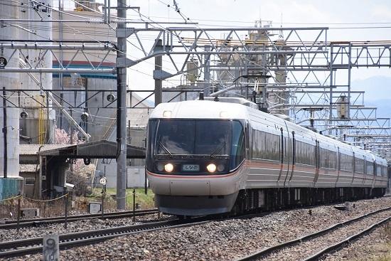 2020年4月5日撮影 南松本にて 1009M 383系WVしなの9号