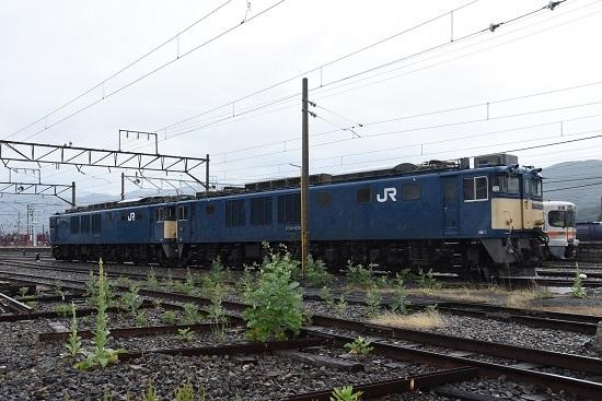 2020年6月14日撮影 南松本にてEF64-1034+1035号機