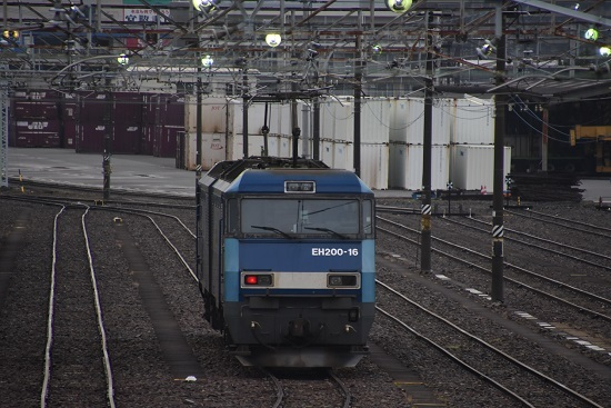 2020年6月20日撮影 南松本にてEH200-16号機