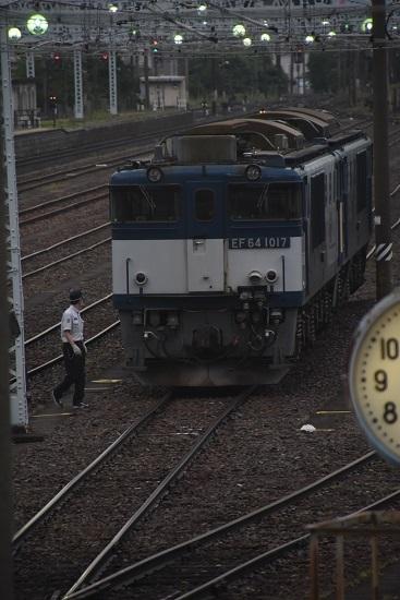 2020年6月20日撮影 南松本にてEF64-1017号機