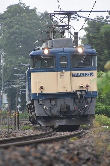 2020年6月20日撮影 篠ノ井線8467レ EF64-1036号機 原色