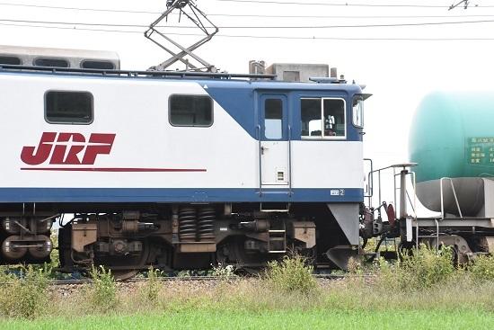 2020年10月3日撮影 西線貨物8084レ JRFマーク