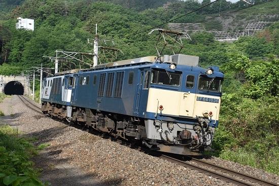 2020年6月20日撮影 篠ノ井線8467レ 西条トンネル出口