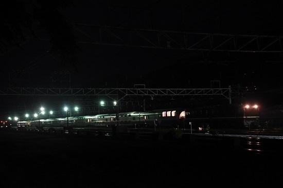 2020年10月4日撮影 信州カシオペア紀行 塩尻大門にて