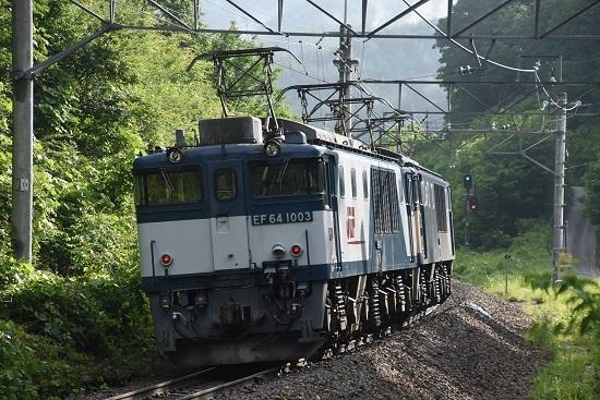 2020年6月20日撮影 篠ノ井線8467レ トンネル出口後撃ち