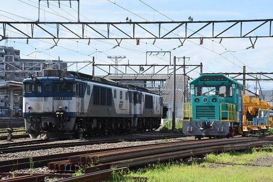2020年8月8日撮影 南松本にて お休み中のEF64-1018号機