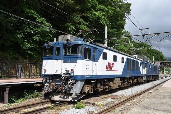 2020年6月20日撮影 篠ノ井線8467レ 姨捨駅にてEF64-1003号機