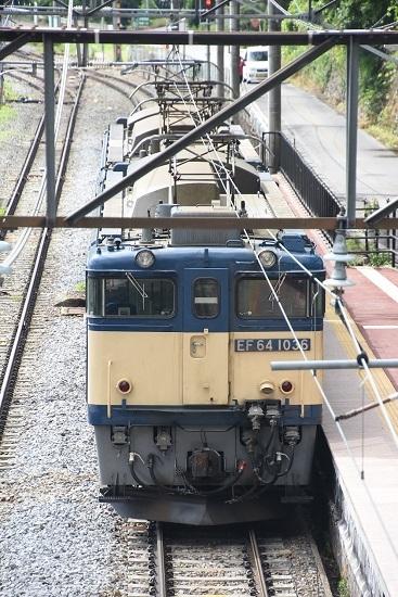 2020年6月20日撮影 篠ノ井線8467レ 姨捨駅跨線橋から