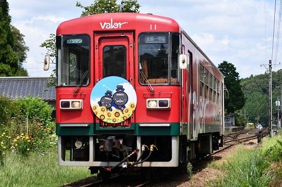 2020年8月30日撮影 明知鉄道 アケチ12 てつじぃのHM