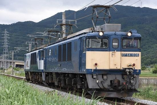 2020年6月20日撮影 篠ノ井線8467レ 稲荷山にて