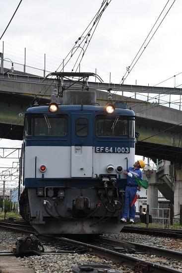 2020年6月20日撮影 篠ノ井線8467レ 塩尻機関区篠ノ井派出所 機回し