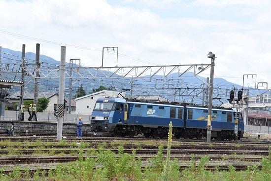 2020年6月20日撮影 坂城貨物5774レ EH200-9号機篠ノ井駅へ