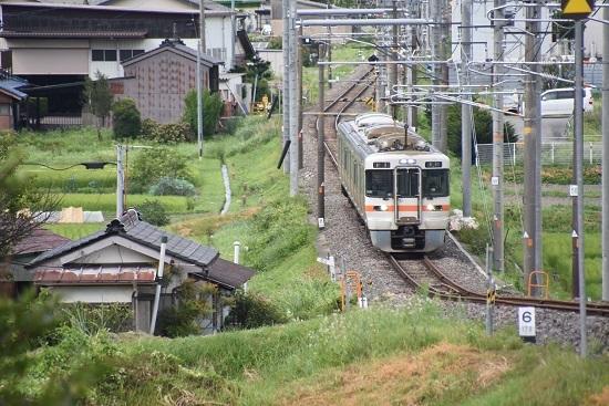 2020年8月10日撮影 飯田線 216M 313系1700番台 40‰ その1
