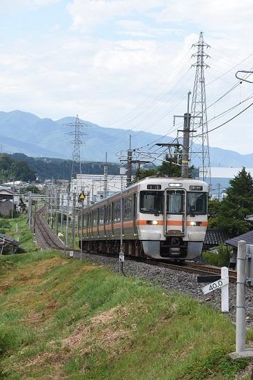 2020年8月10日撮影 飯田線 216M 313系1700番台 40‰ その2