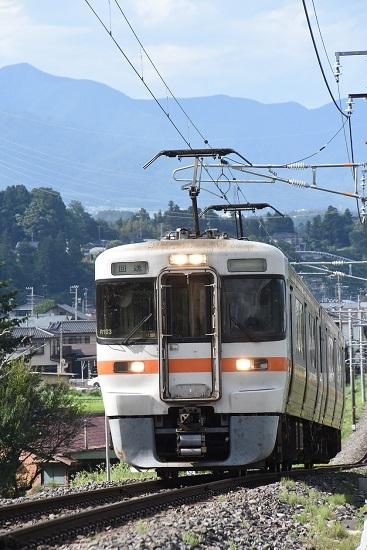 2020年8月10日撮影 飯田線は40‰にて313系 回送