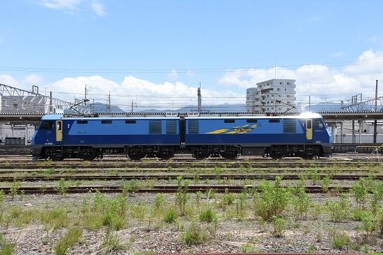 2020年6月20日撮影 坂城貨物85レ EH200-5号機 篠ノ井派出所入区