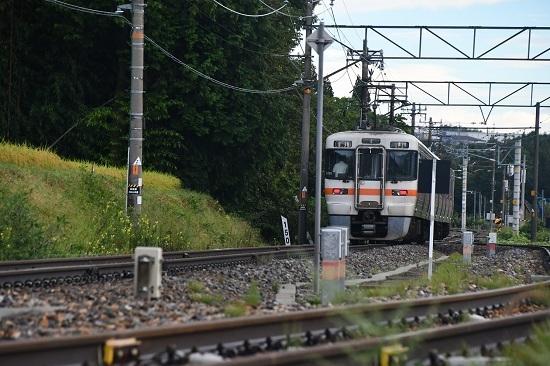 2020年9月6日撮影 飯田線は211M 313系1700番台発車