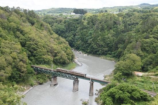 2020年6月21日撮影 飯田線 そらさんぽ天竜峡より 511M 213系