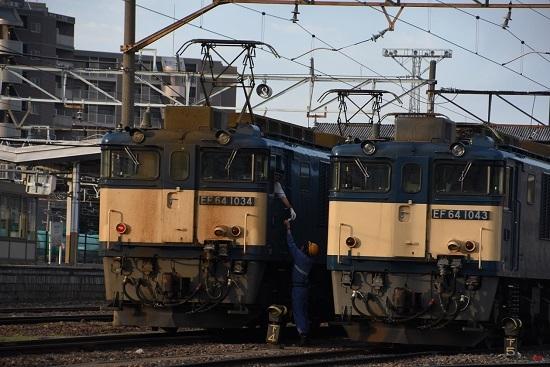 2020年6月27日撮影 南松本にて 篠ノ井線8467レ メモ渡し