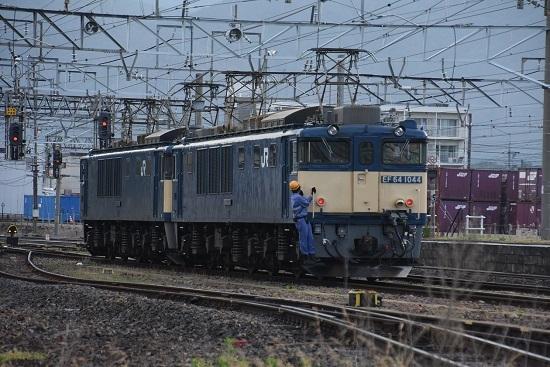 2020年6月27日撮影 篠ノ井線8467レ 南松本にて機回し中