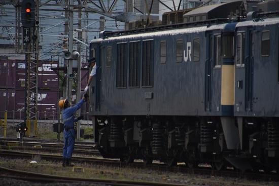 2020年6月27日撮影 篠ノ井線8467レ 南松本にて無線機返却