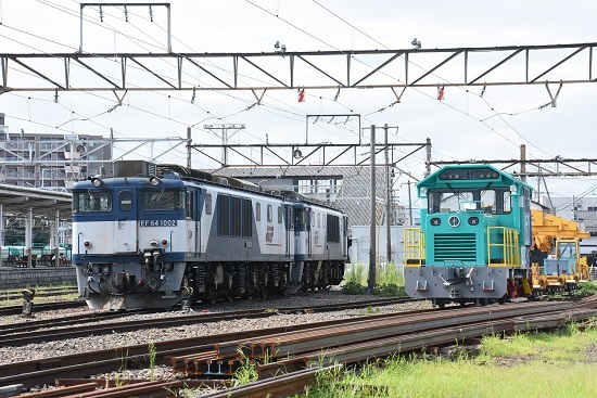 2020年8月12日撮影 南松本にて EF64-1002号機